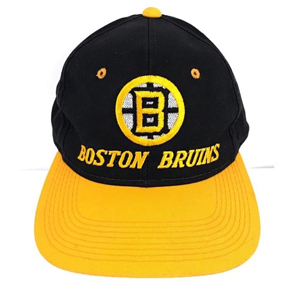 d5c7e7369c0 G-Cap Other - Boston Bruins Vintage G-Cap Snapback NHL Hockey OS